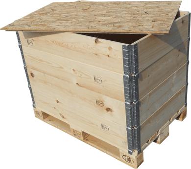 Casse In Legno Standard 120x80 Composta Da Parietali Galvan Imballaggi Srl Leader Nella Produzione Di Casse Pieghevoli E Parietali In Italia