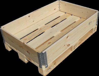 Parietali in legno standard - Collari in legno - Galvan Imballaggi ...